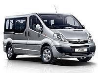 Дефлектор капота (мухобойка, отбойник капота) Opel Vivaro 2001-2014