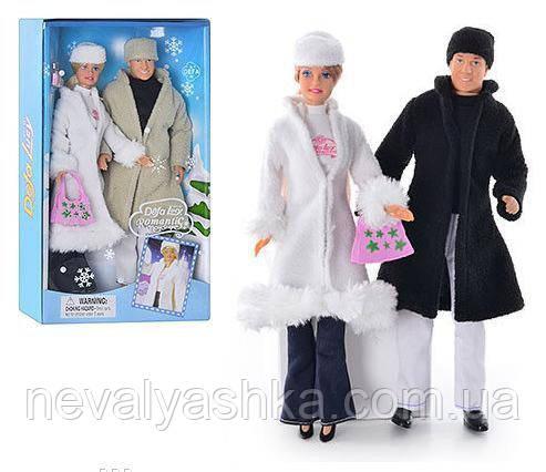 Куклы Defa семья, зима, аналог кукла барби и кен, 20989, 006212