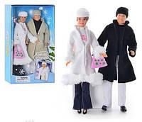 Куклы Defa семья, зима, аналог кукла барби и кен, 20989, 006212, фото 1