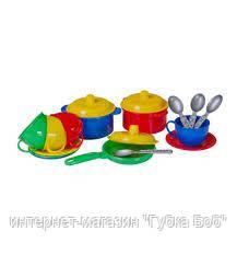 """Набор посуды """"Маринка 1 ТехноК"""" в сетке"""