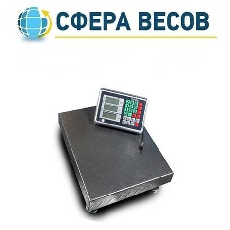 Весы товарные (торговые) ПРОК ВТ-300-Р3 (300 кг, 450*600), фото 2