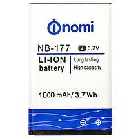 Аккумулятор на телефон Nomi i177/i180 (NB-177)