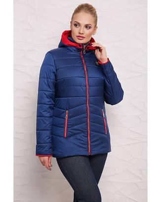 Комбированная куртка, размеры 44-54