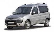 Дефлектор капота (мухобойка, отбойник капота) Peugeot Partner 2002-2007