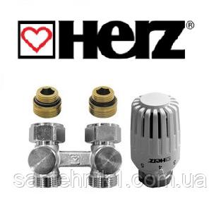 """Термостатический комплект нижнего подключения HERZ Project проходной 1/2"""""""