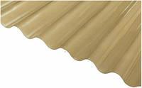 Лист профилированный ПВХ Salux WHR бронзовая волна, фото 1