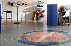 Полукоммерческий линолеум  для школы, больницы,офиса Grabo Astral Color
