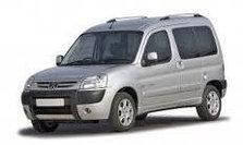 Ветровики на окна Peugeot Partner 2002-2007