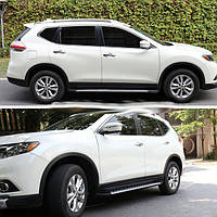 Боковые пороги Nissan X-Trail 2013