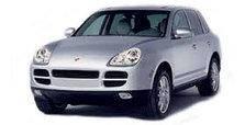 Ветровики Porsche Cayenne 02-10