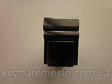 Замок клавишный, для портфеля, барсетки 20 х 27 мм тёмный никель