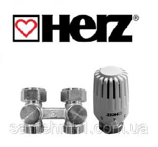 """Термостатический комплект нижнего подключения HERZ Project проходной 3/4"""""""