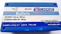 """Пуля Lapua Bullets .30 cal 200 gr, .308"""", SP Mega, 100 шт."""
