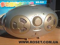 Светодиодный динамо фонарь с радио