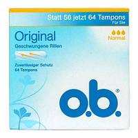 O.b. Original Tampons - Женские тампоны три капли