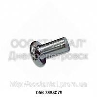 Заклепка стальная с плоской головкой от Ø1,4 до Ø36, ГОСТ 10303-80, DIN 7338 A