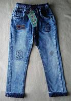 Модные детские зауженные джинсы на мальчика 5 лет