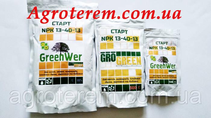 ГроГрин Старт NPK 13-40-13 1 кг.