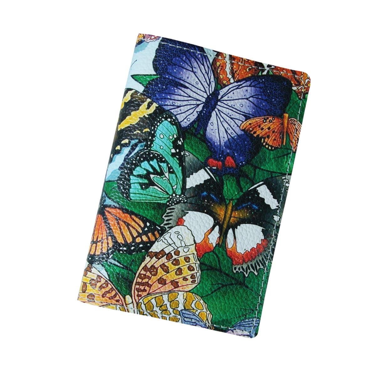 Обложка для паспорта из натуральной кожи (Арт Кажан)