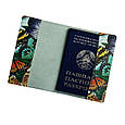 Обложка для паспорта из натуральной кожи (Арт Кажан), фото 2