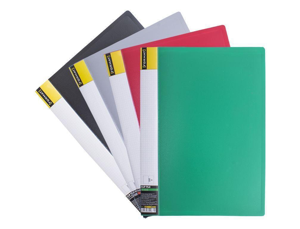 """Папка с файлами 60 файлов """"Format"""" № F37606, цвета в ассортименте"""