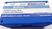 """Пуля Lapua Bullets .30 cal 185 gr, .308"""", OTM Scenar, 100 шт."""