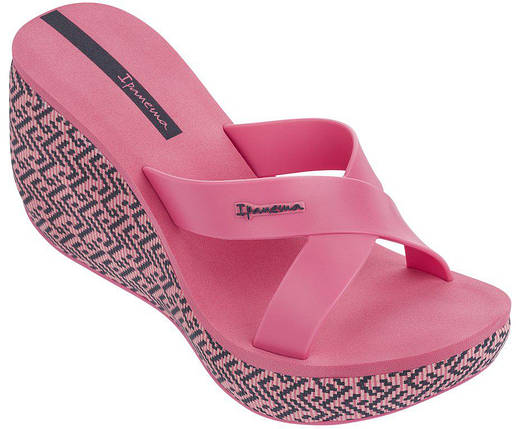 Оригинал Вьетнамки Женские на платформе Ipanema Lipstick Straps IV Fem Pink/Pink 82288-20970 Розовые , фото 2