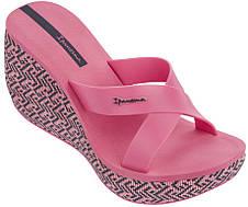 Оригинал Вьетнамки Женские на платформе Ipanema Lipstick Straps IV Fem Pink/Pink 82288-20970 Розовые