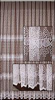 Гардина сетка с вышивкой Т250