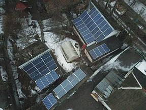 Солнечная сетевая электростанция 16 кВт. г. Белая Церковь 1
