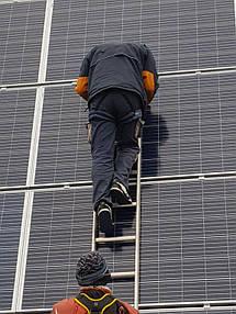 Солнечная сетевая электростанция 16 кВт. г. Белая Церковь 3