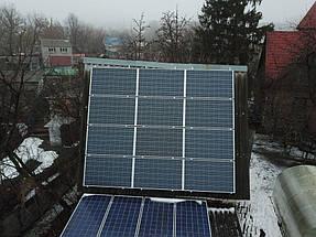 Солнечная сетевая электростанция 16 кВт. г. Белая Церковь 5