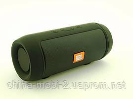 JBL Charge 2 mini 3W J006B копия, колонка с FM Bluetooth MP3, черная, фото 3