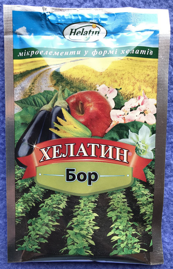 Удобрение Хелатин Бор 50 мл