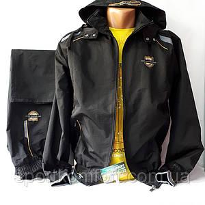 Мужской спортивный костюм турецкой фабрики Соккер из мягкой плащевой ткани, размеры 46, 48, 50, 52, 54.