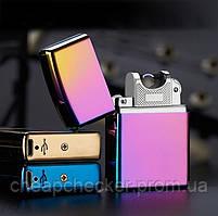 Электроимпульсная  Металлическая USB Зажигалка