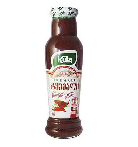 Соус Ткемали красный острый ТМ Kulа, 330г, фото 2