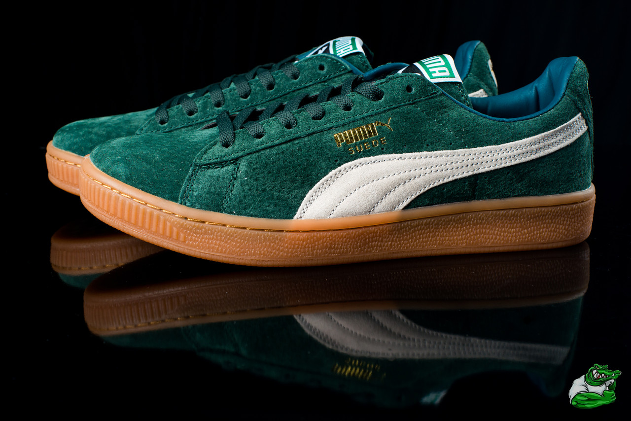 Кроссовки мужские низкие Puma Suede (реплика) -