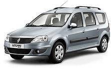 Килимки автомобільні у салон Renault Logan MCV 2005-2012