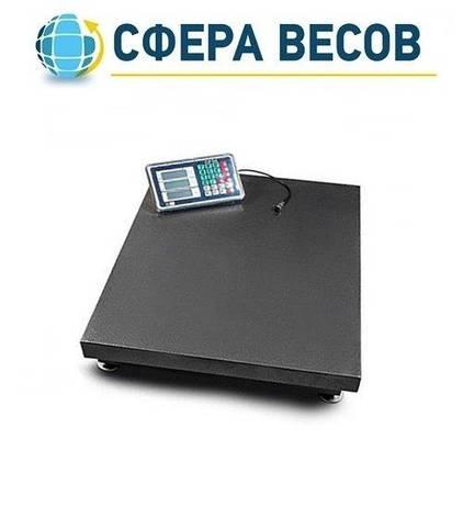 Весы товарные (торговые) ПРОК ВТ-600-УР (600 кг, 600*800), фото 2