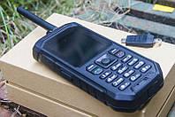 Телефон рация Land Rover X6 PTT Black + рация