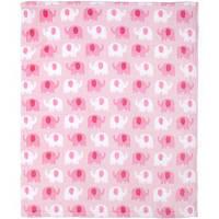Яркое плюшевое одеяло для новорождённых