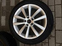 Диск (один) з резиною R17 для Volkswagen Passat B7