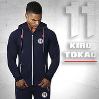 Kiro Tokao 183 | Толстовка спортивная темно-синяя