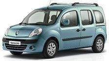 Дефлектор капота (мухобойка, отбойник капота) Renault Kangoo 2008-...