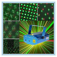 Лазерний проектор із звуковою активацією