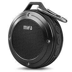 Портативная Bluetooth колонка Mifa F10 Black водонепроницаемая, фото 2
