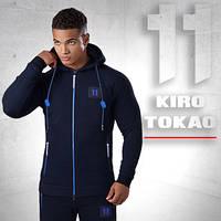 Kiro Tokao 137   Толстовка мужская темно-синяя