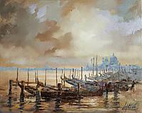 «Теплый вечер в Венеции» картина маслом