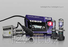 Биксенон. Установочный комплект Infolight Expert PRO ver.2 H4 H/L 4300K 35W